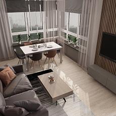 Проект квартиры в ЖК «Правый берег»